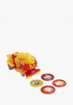 Игрушка Росмэн Дикие Скричеры. Маш-трансформер Флэйминг Лайон S2. ТМ Screechers Wild. Цвет: разноцветный
