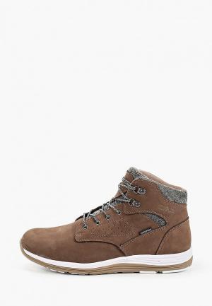 Ботинки CMP NIBAL MID WP. Цвет: коричневый