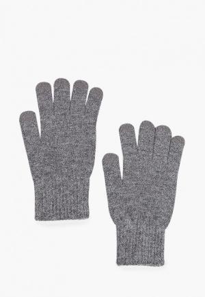 Перчатки Mango Man TOUCH. Цвет: серый