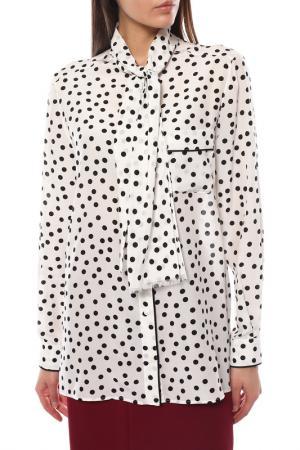 Блуза Dolce&Gabbana. Цвет: белый, черный