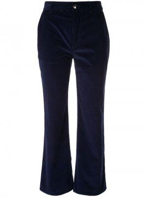 Бархатные расклешенные брюки Altuzarra