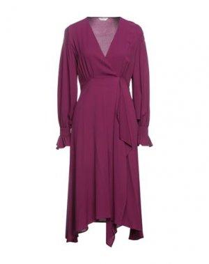 Длинное платье BEATRICE. Цвет: пурпурный