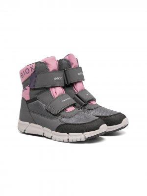 Ботинки Flexyper Abx Geox Kids. Цвет: серый