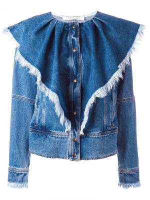 Джинсовая куртка Volant Philosophy Di Lorenzo Serafini. Цвет: синий