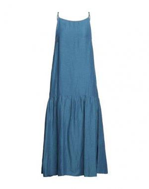 Платье миди CARACTÈRE. Цвет: грифельно-синий