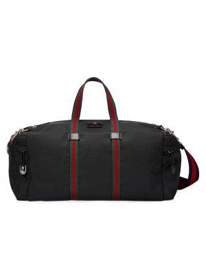 Спортивная сумка Technical Gucci. Цвет: черный