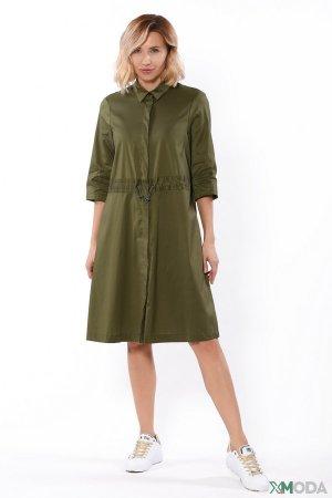 Платье Cinque. Цвет: зелёный