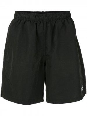 Спортивные шорты Stussy. Цвет: черный