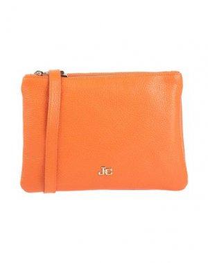 Сумка на руку J&C JACKYCELINE. Цвет: оранжевый