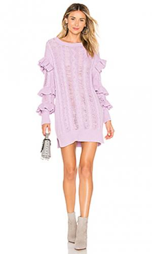 Пуловер pari Tularosa. Цвет: бледно-лиловый