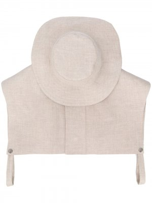 Шляпа из коллаборации с Mackintosh Jil Sander. Цвет: серый