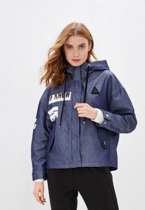 Куртка Chic & Charisma. Цвет: синий