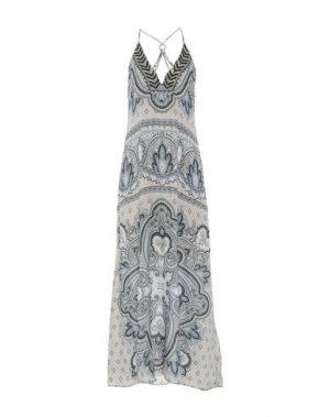 Длинное платье HALE BOB. Цвет: светло-серый