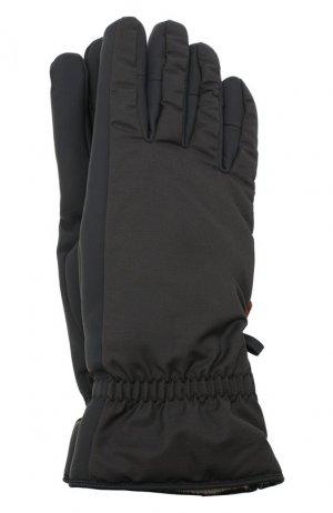 Утепленные перчатки Loro Piana. Цвет: темно-серый