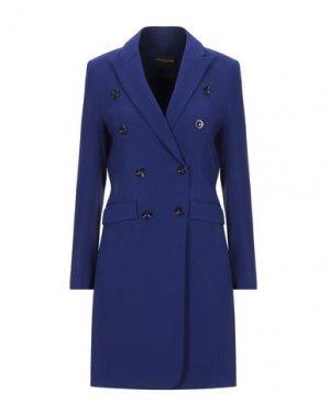 Легкое пальто ATOS LOMBARDINI. Цвет: ярко-синий