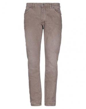 Джинсовые брюки DRYKORN. Цвет: хаки