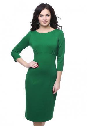 Платье Grey Cat LAYLA. Цвет: зеленый