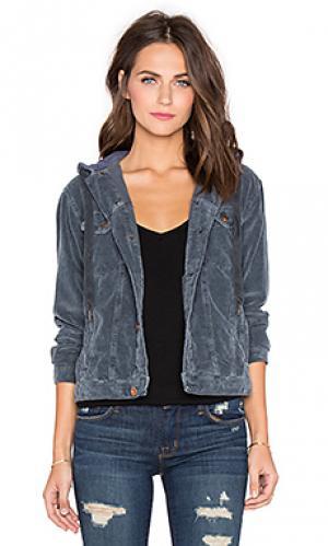 Куртка rusty NSF. Цвет: аспидно-серый