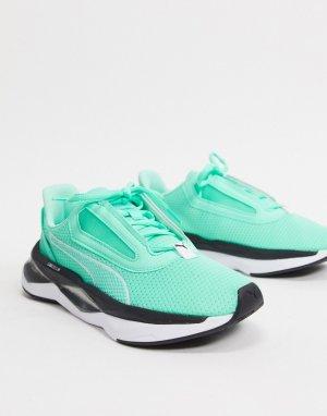 Зеленые кроссовки LQD Cell-Зеленый Puma