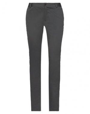 Повседневные брюки COMPAGNIA ITALIANA. Цвет: свинцово-серый