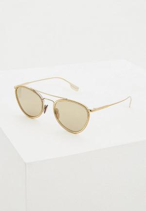 Очки солнцезащитные Burberry BE3104 11455A. Цвет: золотой