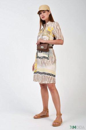Платье SE Stenau. Цвет: разноцветный