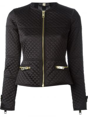Куртка-бомбер с застежкой-молнией Burberry Brit. Цвет: чёрный