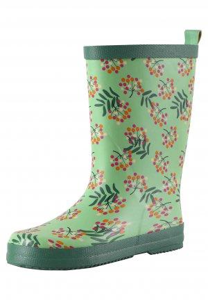 Резиновые сапоги Ravata Зеленые Reima. Цвет: зеленый