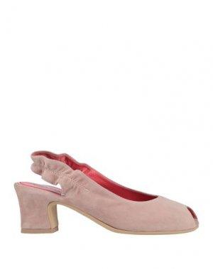 Сандалии PAS DE ROUGE. Цвет: пастельно-розовый