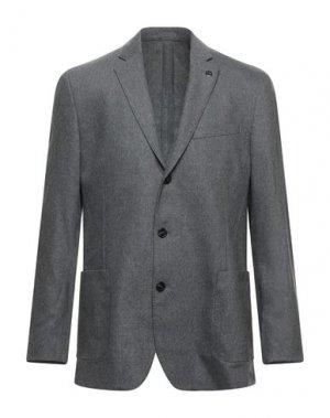 Пиджак MICHAEL KORS MENS. Цвет: свинцово-серый