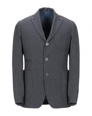 Пиджак JOHN SHEEP. Цвет: свинцово-серый