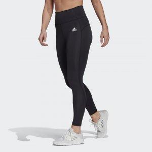 Леггинсы для фитнеса FeelBrilliant Designed To Move Performance adidas. Цвет: черный