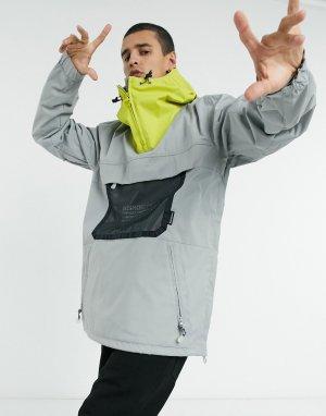 Складная лыжная куртка серого цвета ASAP-Серый DC