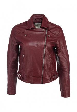 Куртка кожаная Levis® Levi's®. Цвет: бордовый
