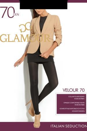 Матовые колготки 70 den Glamour. Цвет: черный