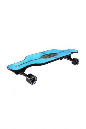 Скейтборд с сумкой Y-SCOO. Цвет: голубой
