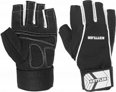 Перчатки для фитнеса мужские Basic Kettler. Цвет: черный