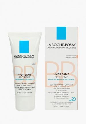 BB-Крем La Roche-Posay HYDREANE, для чувствительной кожи, натурально-бежевый, 40 мл. Цвет: бежевый