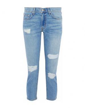 Джинсовые брюки DEREK LAM 10 CROSBY. Цвет: синий