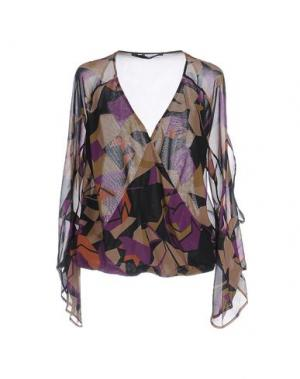 Блузка ANNARITA N. Цвет: охра