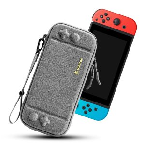 Чехол для Nintendo Switch SHEIN. Цвет: серый