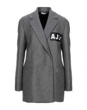 Пальто AU JOUR LE. Цвет: серый