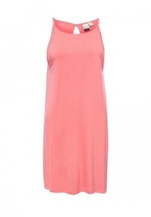 Платье Roxy. Цвет: розовый