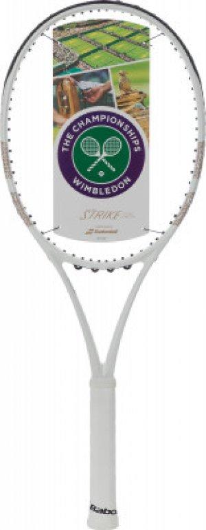 Ракетка для большого тенниса Pure Strike Babolat. Цвет: белый