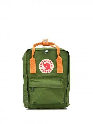 Мини-рюкзак Kanken Fjällräven. Цвет: зеленый
