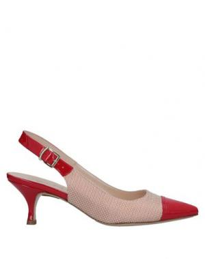 Туфли ELATA. Цвет: красный