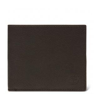Мелкая и кожаная галантерея Kennebunk Bifold Wallet Timberland. Цвет: темно-коричневый