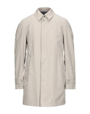 Легкое пальто HERNO. Цвет: светло-серый