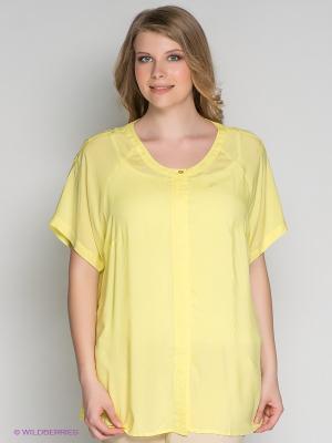 Блузка ARDATEX. Цвет: желтый