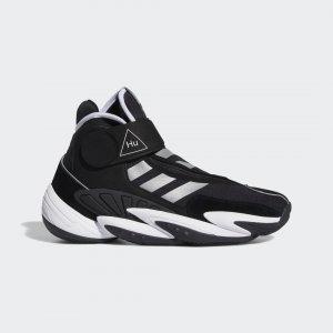 Баскетбольные кроссовки Crazy BYW Pharrell Williams Performance adidas. Цвет: черный